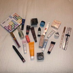 Bundle of makeup and serums.